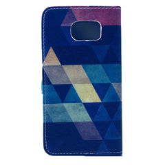 Diamond Stand Leather Case For Samsung S6 - BoardwalkBuy - 4