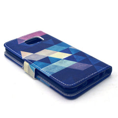 Diamond Stand Leather Case For Samsung S6 - BoardwalkBuy - 2