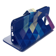 Diamond Stand Leather Case For Samsung S6 - BoardwalkBuy - 3