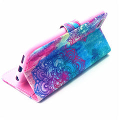 Flower Leather Wallet Case for iPhone 6 4.7 - BoardwalkBuy - 3