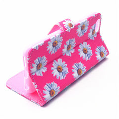 Daisy Painted Leather Case for iPhone 6 Plus - BoardwalkBuy - 3