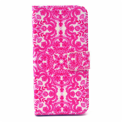 PU Leather Wallet Case for iPhone 6 4.7""