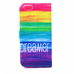 Rainbow Painted Leather Case for iPhone 6 4.7 - BoardwalkBuy - 2