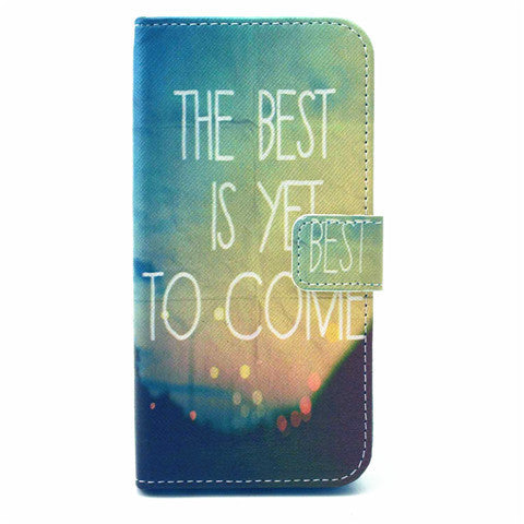 Card Slots Leather Case For Iphone 6 Plus