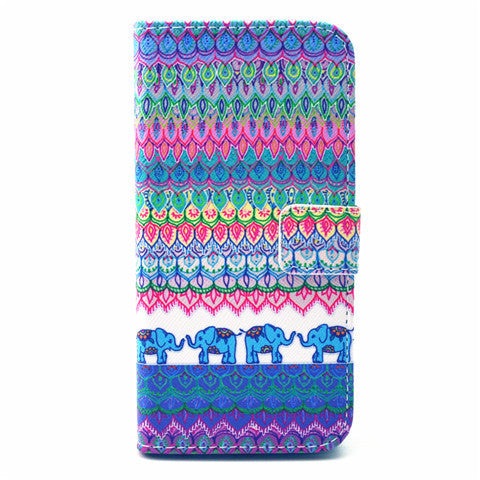 Tribe Leather Case for iPhone 6 Plus - BoardwalkBuy - 1