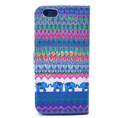 The elephant tribe Stand Leather Case For iPhone6 - BoardwalkBuy - 3