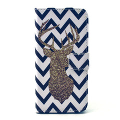 The waves deer Stand Leather Case For iPhone6 - BoardwalkBuy - 1
