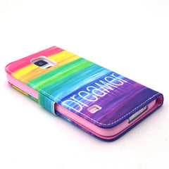 Colorful dream Stand Leather Case For Samsung S5 - BoardwalkBuy - 4