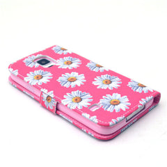 Chrysanthemum Stand Leather Case For Samsung S5 - BoardwalkBuy - 4