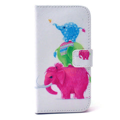 Naughty elephants  Stand Leather Case For Samsung S4 - BoardwalkBuy - 1