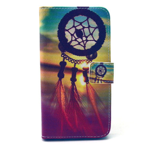 Dreamcatcher Stand Leather Case For Samsung S6 Edge - BoardwalkBuy - 1