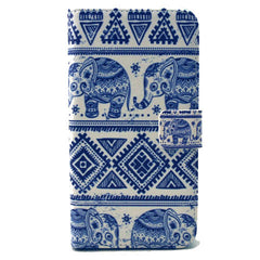 White elephant Stand Leather Case For Samsung S6 Edge - BoardwalkBuy - 1