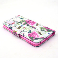 Flower Tower Stand Leather Case For Samsung S6 Edge - BoardwalkBuy - 3