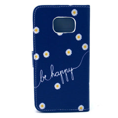 Chrysanthemum  Stand Leather Case For Samsung S6 Edge - BoardwalkBuy - 4
