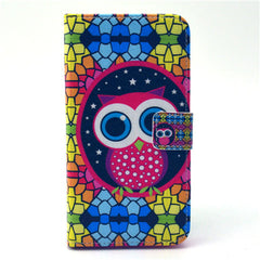 Masonry OwlStand Leather Case For Samsung S6 Edge - BoardwalkBuy - 1