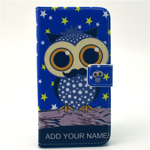 Owl Stand Leather Case For Samsung S6 Edge - BoardwalkBuy - 1
