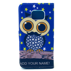 Owl Stand Leather Case For Samsung S6 Edge - BoardwalkBuy - 4