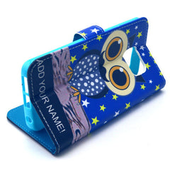 Owl Stand Leather Case For Samsung S6 Edge - BoardwalkBuy - 3