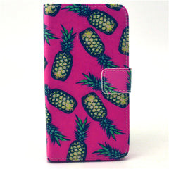 Pineapple Stand Leather Case For Samsung S6 Edge - BoardwalkBuy - 1