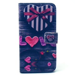 Love Stand Leather Case For Samsung S6 Edge - BoardwalkBuy - 1