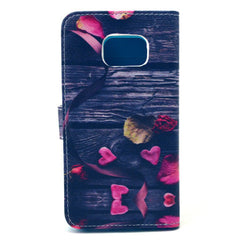 Love Stand Leather Case For Samsung S6 Edge - BoardwalkBuy - 4
