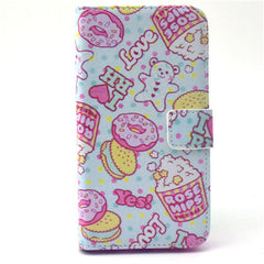 Cookies Stand Leather Case For Samsung S6 Edge - BoardwalkBuy - 1