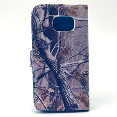 Tree Stand Leather Case For Samsung S6 Edge - BoardwalkBuy - 4
