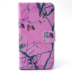 Pink Tree Stand Leather Case For Samsung S6 Edge - BoardwalkBuy - 1