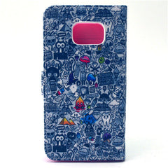 Comic Stand Leather Case For Samsung S6 Edge - BoardwalkBuy - 4