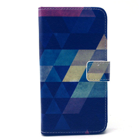 Diamond Stand Leather Case For Samsung S6 Edge