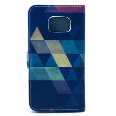 Diamond Stand Leather Case For Samsung S6 Edge - BoardwalkBuy - 4
