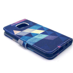 Diamond Stand Leather Case For Samsung S6 Edge - BoardwalkBuy - 2