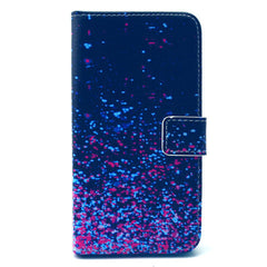 Purple Star Stand Leather Case For Samsung S6 Edge - BoardwalkBuy - 1
