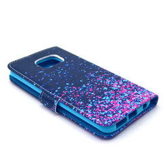 Purple Star Stand Leather Case For Samsung S6 Edge - BoardwalkBuy - 2