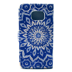 Sunflower Stand Leather Case For Samsung S6 Edge - BoardwalkBuy - 4