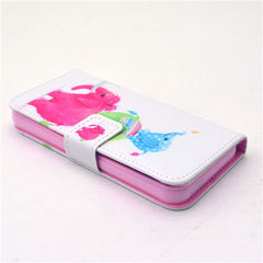 Naughty elephant  Stand Leather Case For iPhone5s - BoardwalkBuy - 4