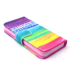 Colorful dream Stand Leather Case For iPhone5s - BoardwalkBuy - 3