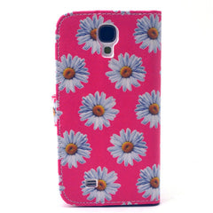 Chrysanthemum Stand Leather Case For Samsung S4 - BoardwalkBuy - 4
