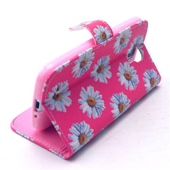 Chrysanthemum Stand Leather Case For Samsung S4 - BoardwalkBuy - 2