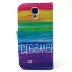 Colorful dream Stand Leather Case For Samsung S4 - BoardwalkBuy - 4
