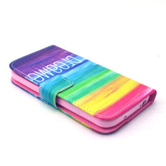 Colorful dream Stand Leather Case For Samsung S4 - BoardwalkBuy - 3