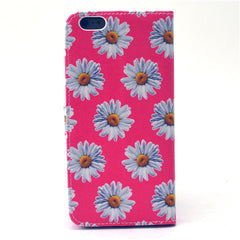 Chrysanthemum Leather Case for iPhone 6 Plus - BoardwalkBuy - 3