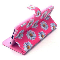 Chrysanthemum Leather Case for iPhone 6 Plus - BoardwalkBuy - 2