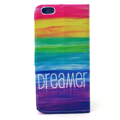 Colorful dream Stand Leather Case For iPhone6 - BoardwalkBuy - 3