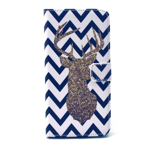 The Waves Deer Leather Case for iPhone 6 Plus - BoardwalkBuy - 1
