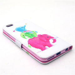 Naughty elephants Leather Case for iPhone 6 Plus - BoardwalkBuy - 4
