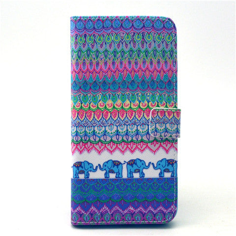 The elephant tribe Leather Case for iPhone 6 Plus - BoardwalkBuy - 1