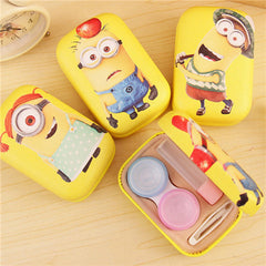 Despicable Me Contact Lenses Mirrors+ Bottles+ Double Box+ Tweezers+ Stick Set - BoardwalkBuy - 1