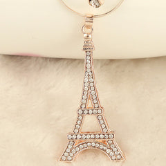 Diamond Eiffel Tower Necklace - BoardwalkBuy - 2