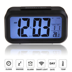 Digital Snooze Electronic Alarm Clock - BoardwalkBuy - 1